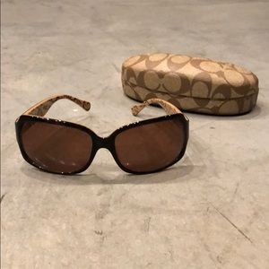 Coach Sunglasses - Brown Gradient